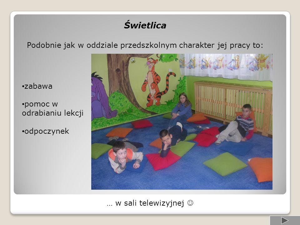 Oprócz zajęć obowiązkowych dla dzieci pięcio i sześcioletnich są prowadzone zajęcia dodatkowe: logopedyczne, reedukacyjne, gimnastyka korekcyjna oraz język angielski.