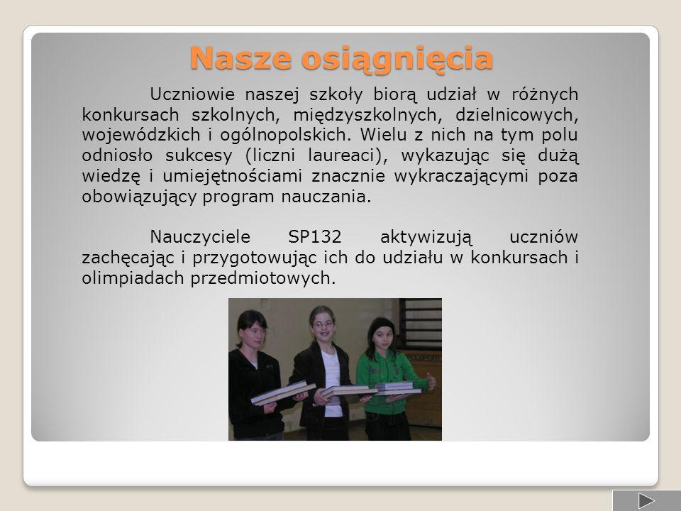 Informacje od nauczycieli.