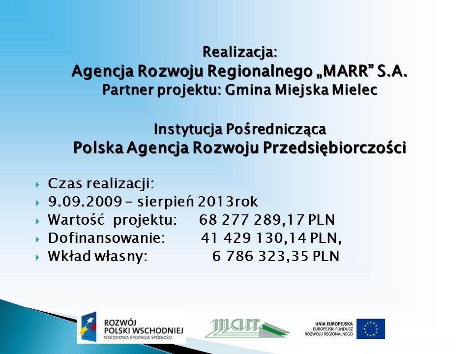 Realizacja: Agencja Rozwoju Regionalnego MARR S.A.