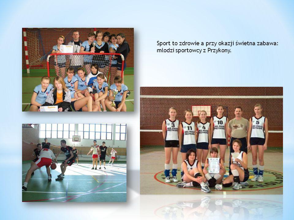 Sport to zdrowie a przy okazji świetna zabawa: młodzi sportowcy z Przykony.