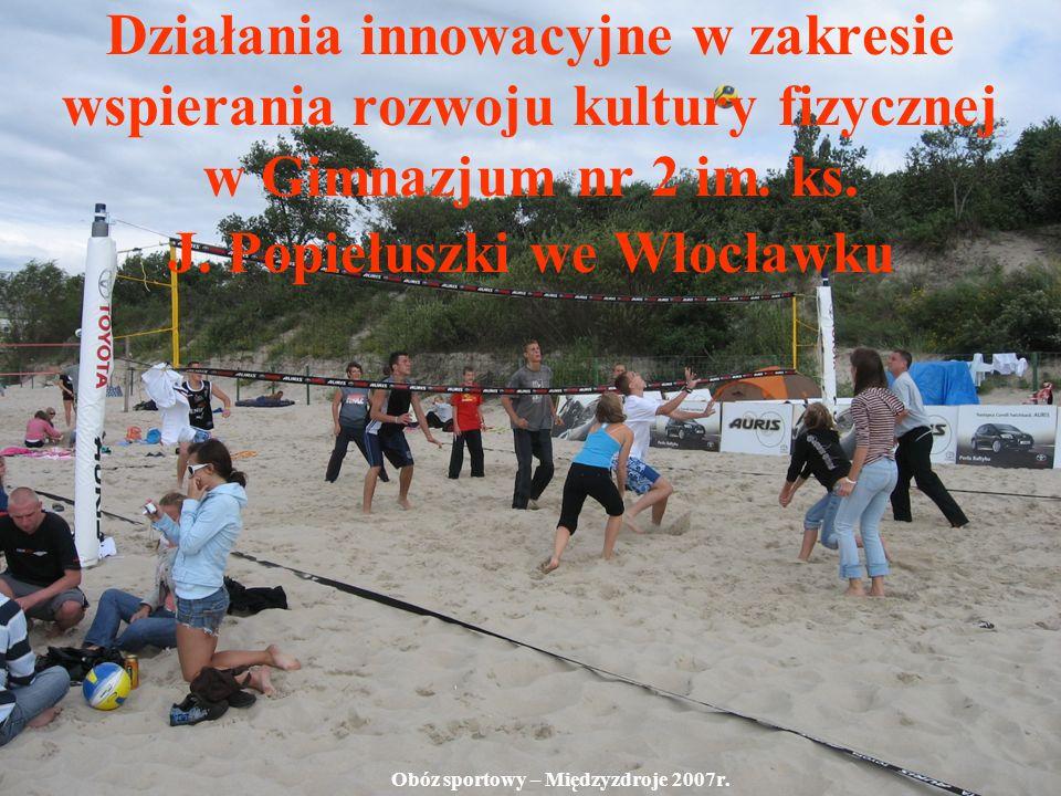 Obóz sportowy – Międzyzdroje 2007r.