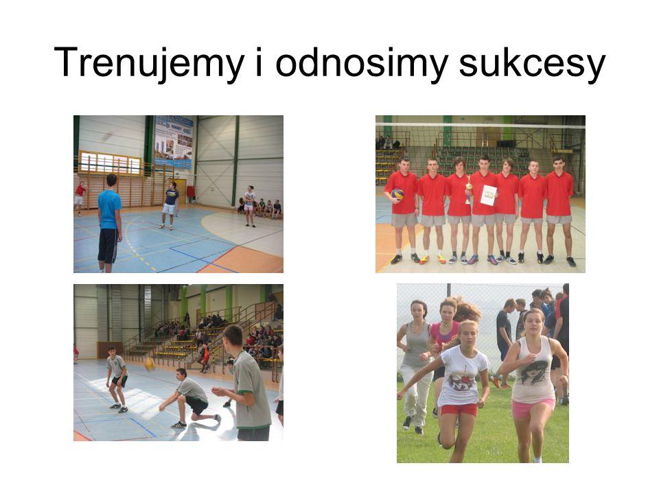 Mamy sukcesy sportowe Nasze gimnazjum ma wspaniałe osiągnięcia sportowe.
