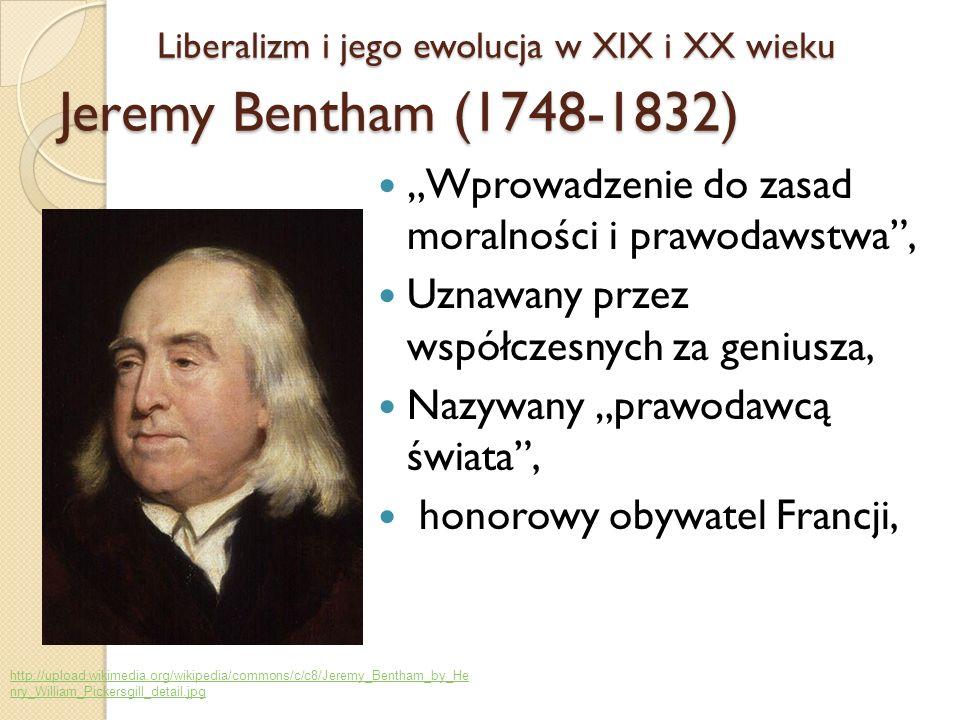 Wprowadzenie do zasad moralności i prawodawstwa, Uznawany przez współczesnych za geniusza, Nazywany prawodawcą świata, honorowy obywatel Francji, Libe