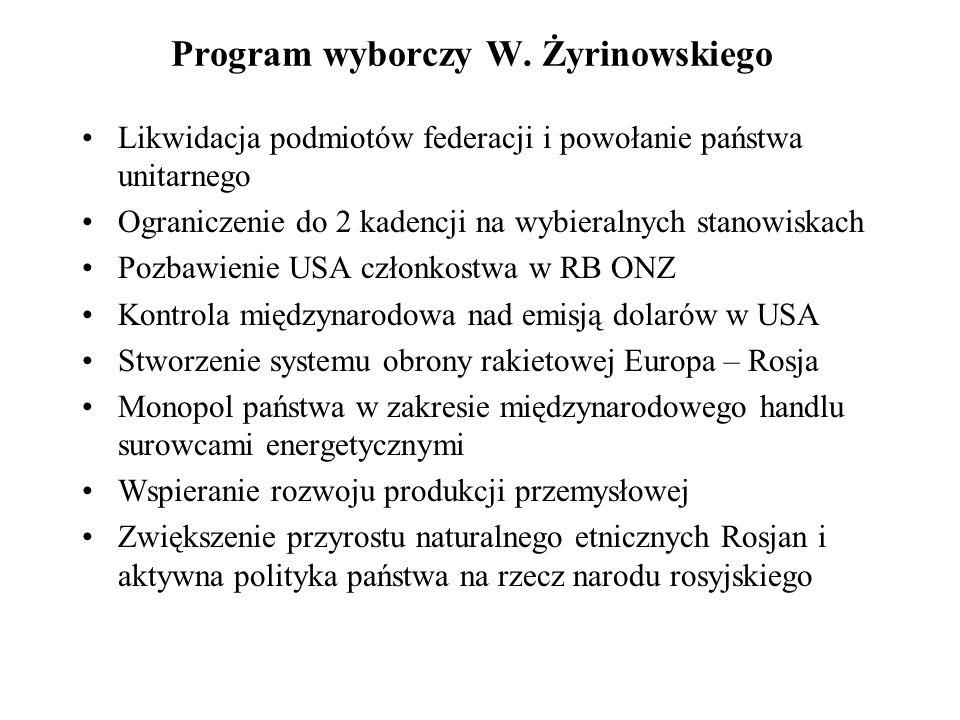 Program wyborczy W.