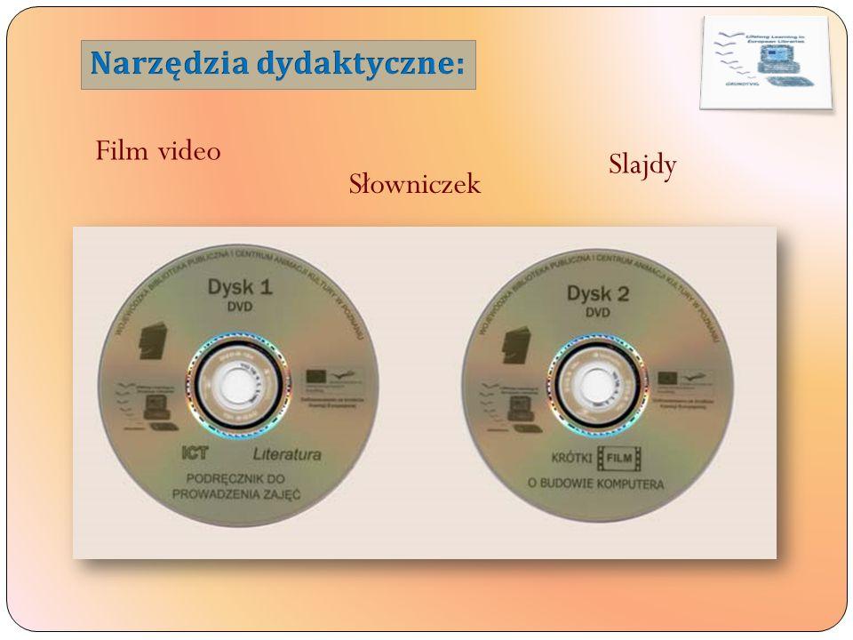 Film video Słowniczek Slajdy