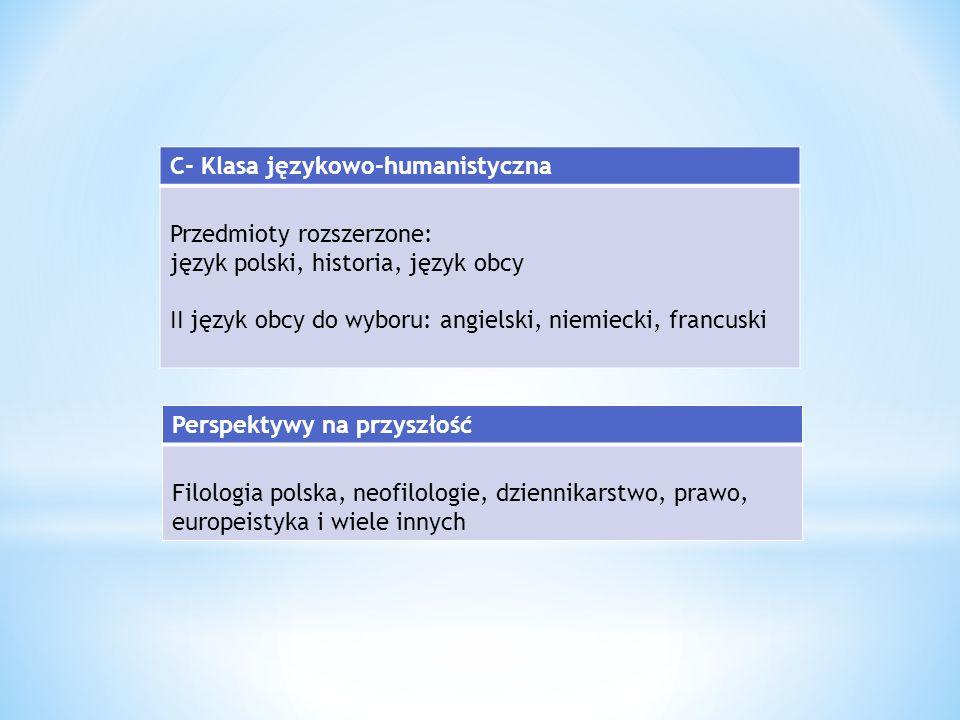 język migowy (nowość) – przygotowanie do egzaminu I° (T1) język czeski (nowość) język hiszpański zajęcia relaksacyjne (np.