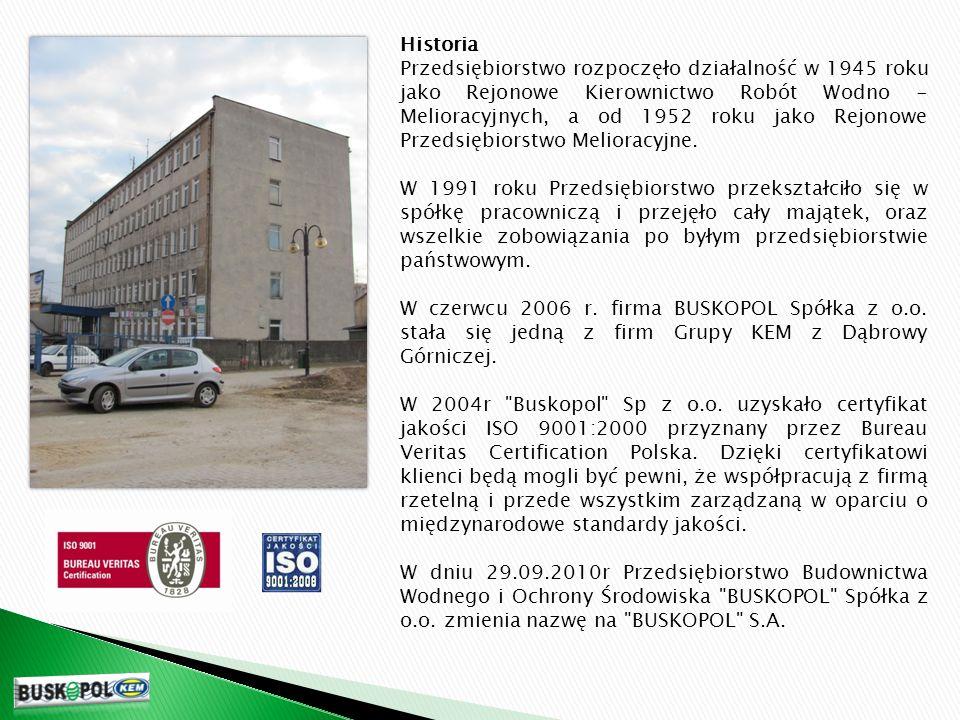 ZAPRASZAMY DO WSPÓŁPRACY BUSKOPOL S.A.