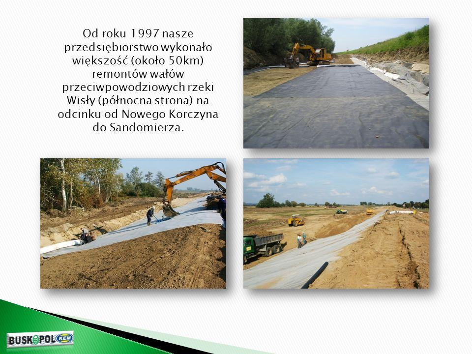 Oczyszczalnia ścieków w Lubczy gmina Wodzisław.