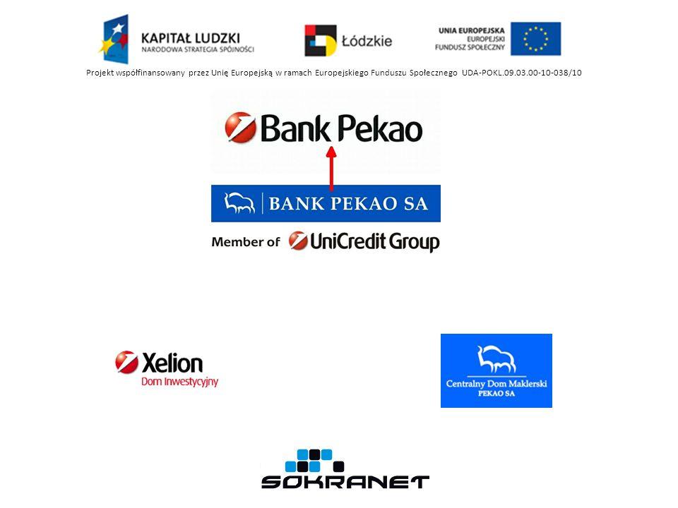 Kartowe Obsługa Aktywacja Zastrzeżenia Pekao24 Segmenty Klienta Superkonsultant Inne Fundusze Pionieer Dom Inwestycyjny Xelion Centralny Dom Maklerski Projekt współfinansowany przez Unię Europejską w ramach Europejskiego Funduszu Społecznego UDA-POKL.09.03.00-10-038/10