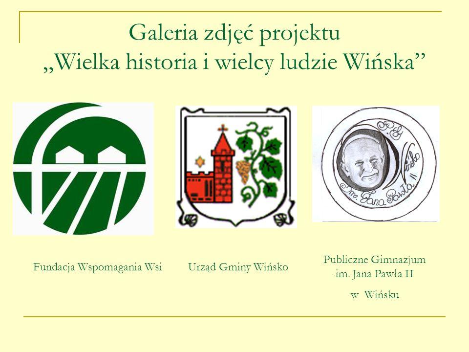 Miniwykład o sławnych wińszczanach, wygłoszony przez historyka Józefa Piątkowskiego
