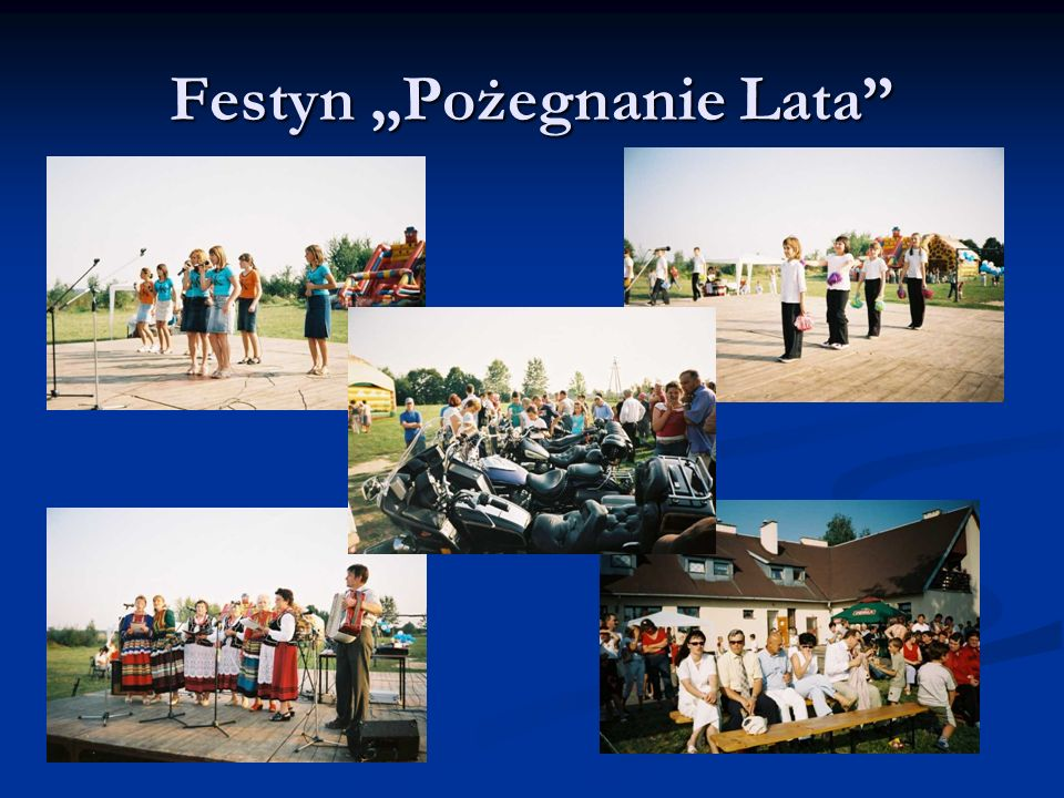 Festyn Pożegnanie Lata