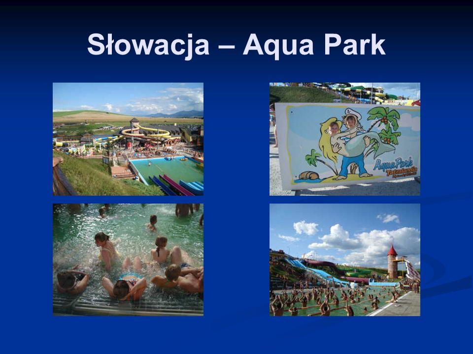 Słowacja – Aqua Park