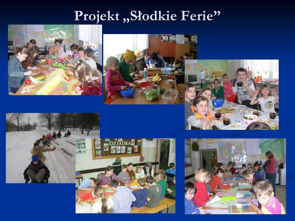Projekt Słodkie Ferie