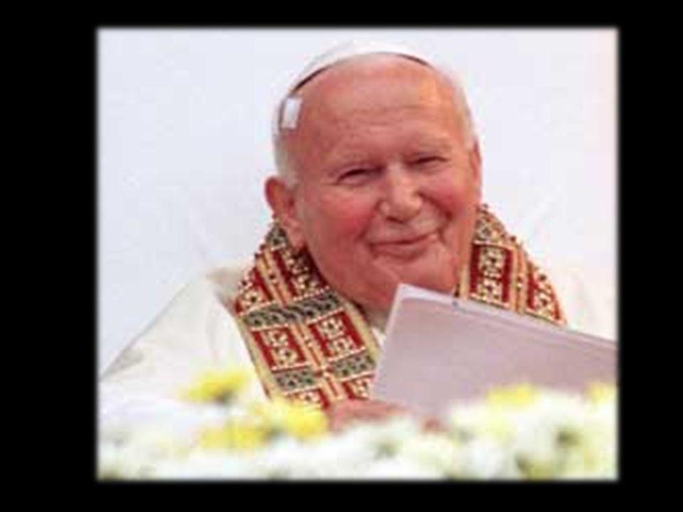 Jan Paweł II jest dla mnie wzorem do naśladowania.