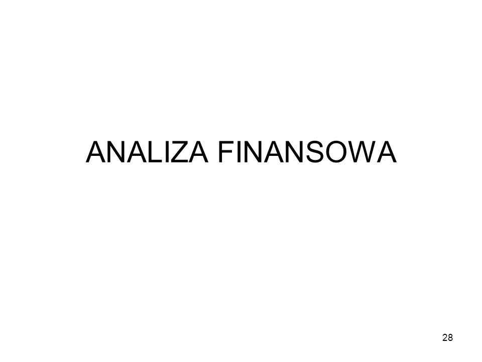 ANALIZA FINANSOWA 28
