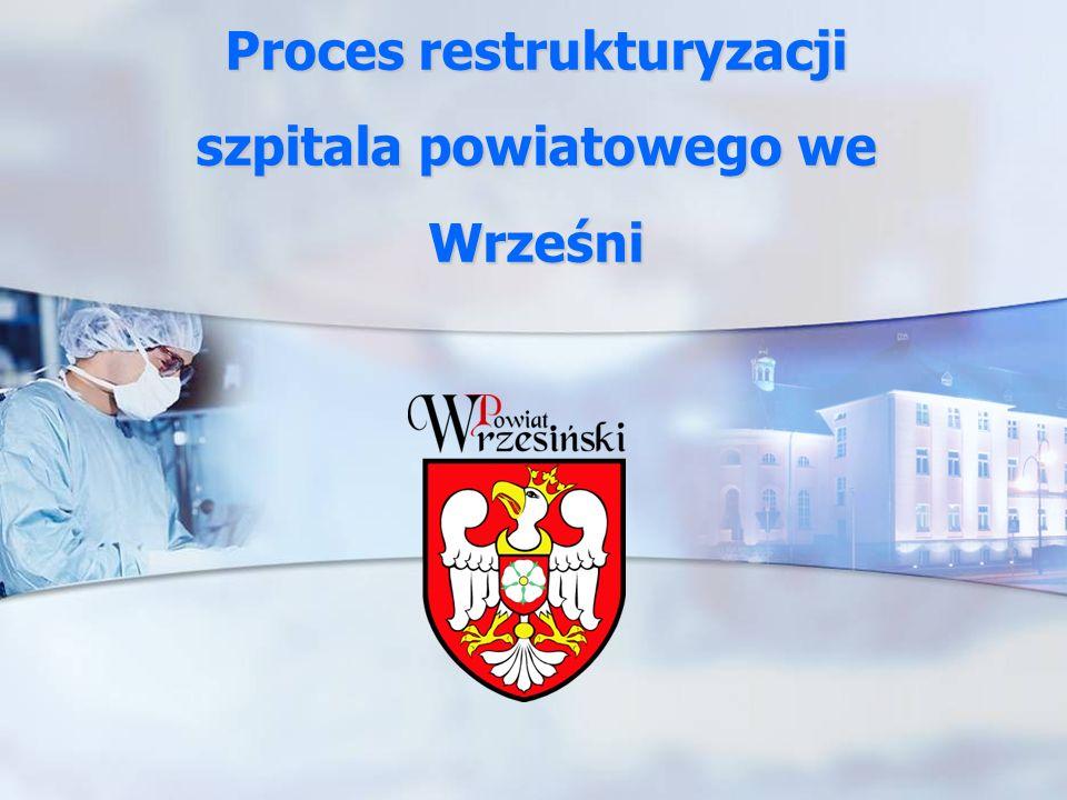 Proces restrukturyzacji szpitala powiatowego we Wrześni