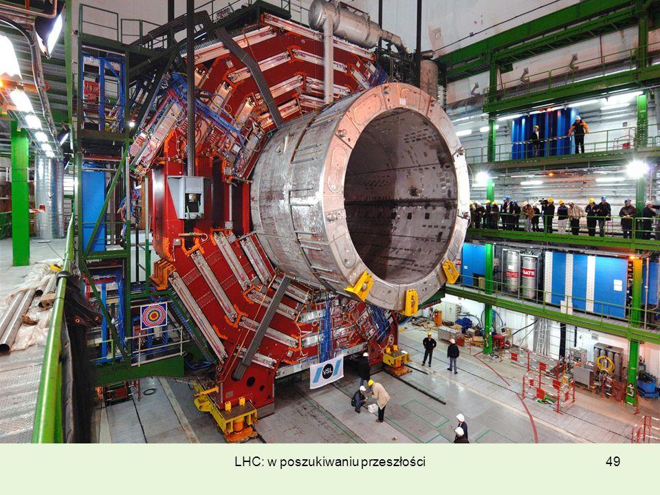 LHC: w poszukiwaniu przeszłości49
