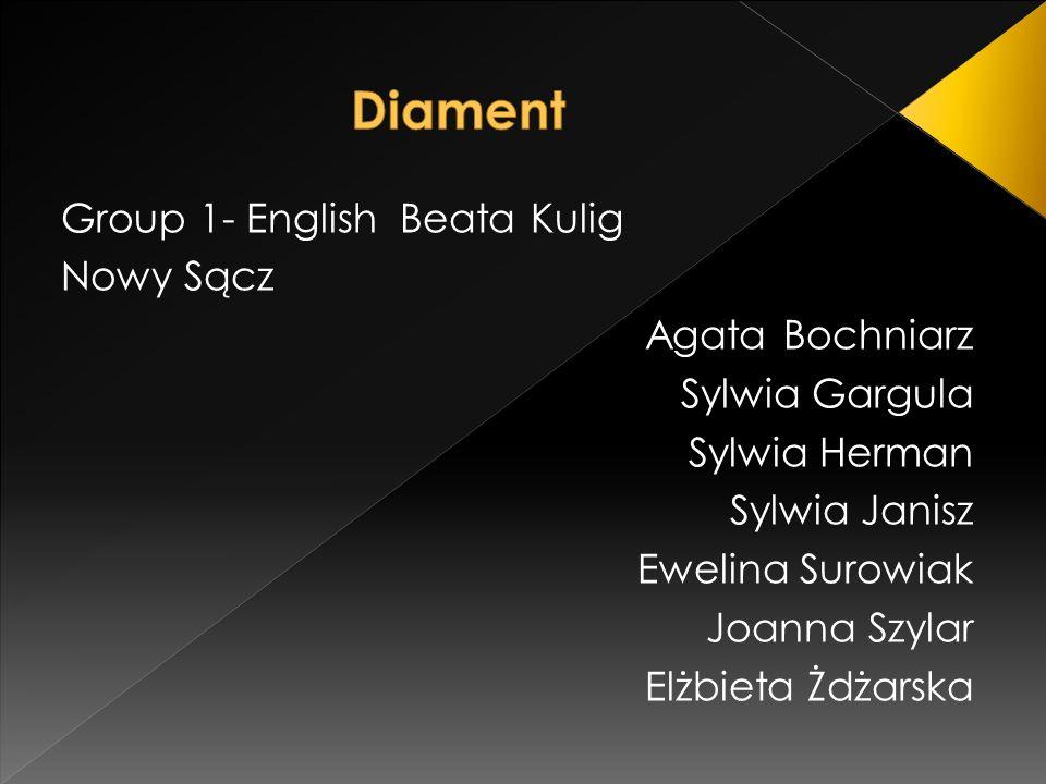 Group 1- English Beata Kulig Nowy Sącz Agata Bochniarz Sylwia Gargula Sylwia Herman Sylwia Janisz Ewelina Surowiak Joanna Szylar Elżbieta Żdżarska