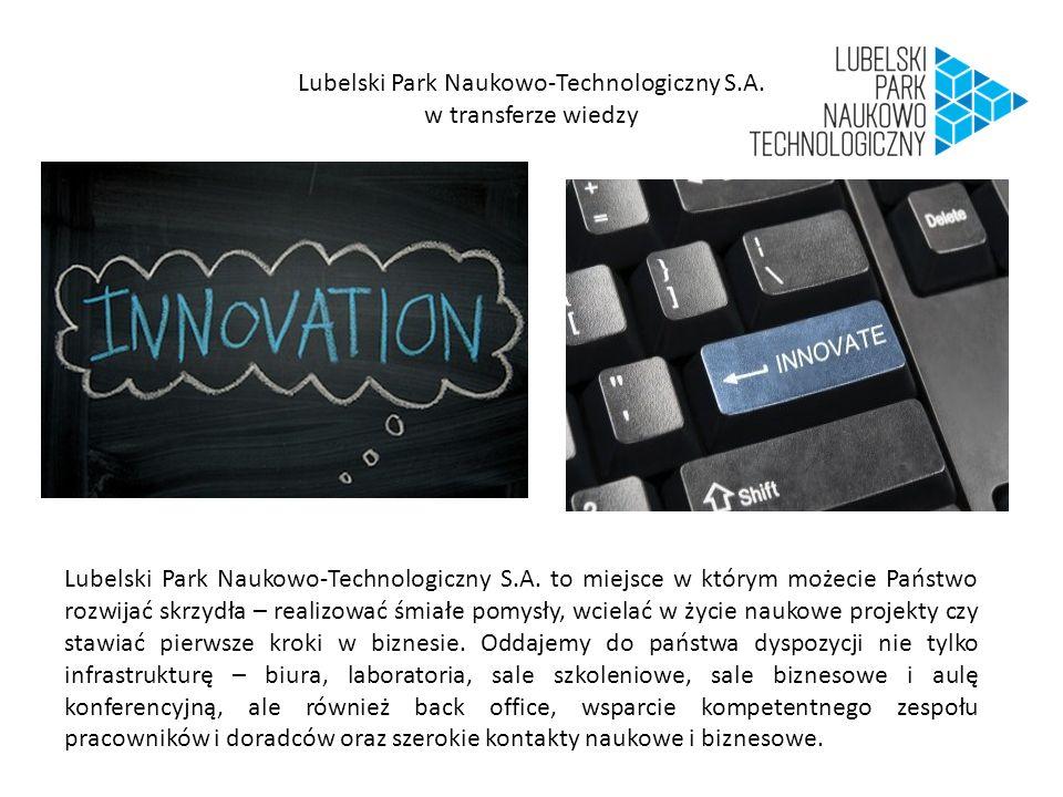 Lubelski Park Naukowo-Technologiczny S.A.