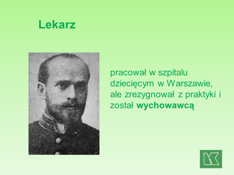 Był współtwórcą i kierownikiem żydowskiego Domu Sierot oraz sierocińca Nasz Dom dla polskich dzieci.