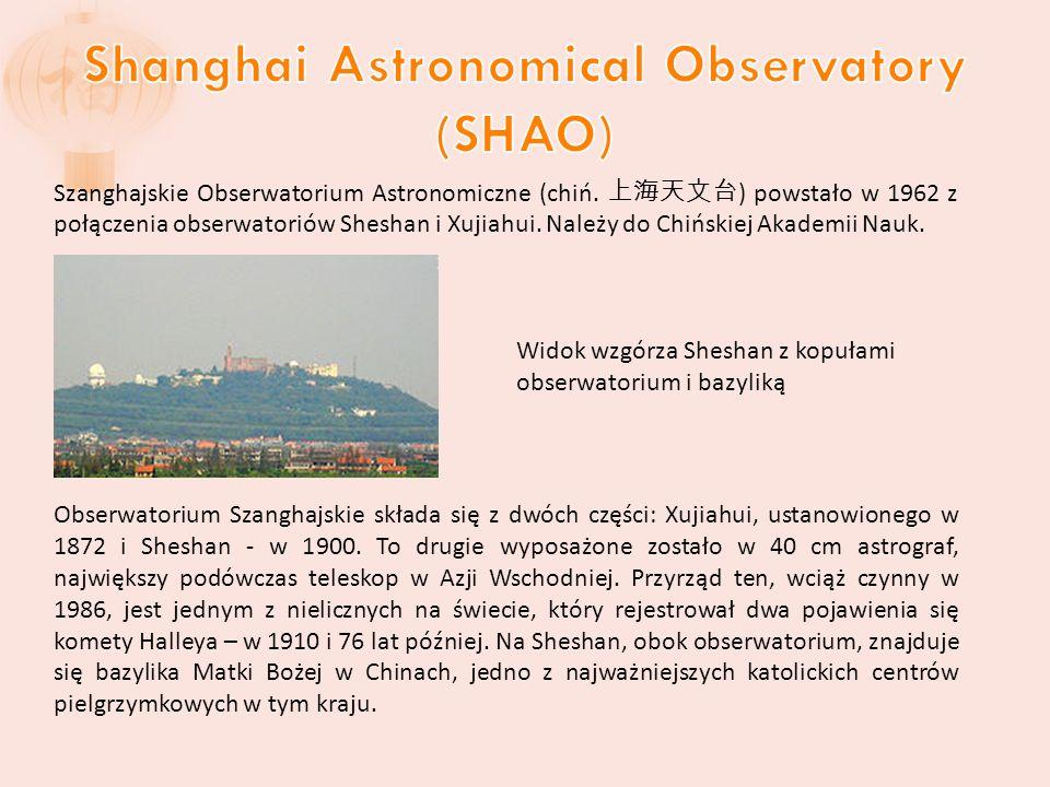 Szanghajskie Obserwatorium Astronomiczne (chiń.