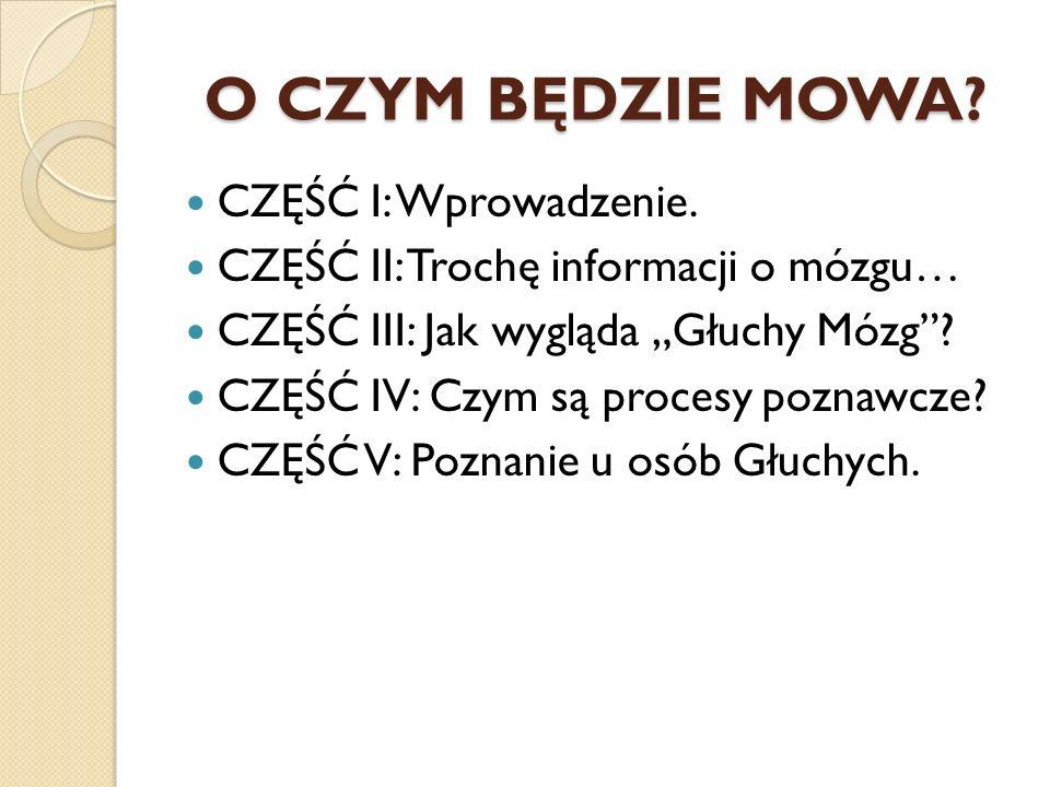 SPOSTRZEGANIE/PERCEP CJA