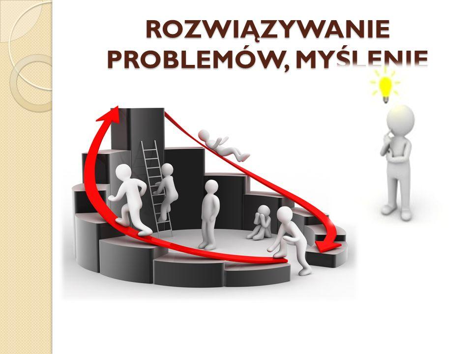 ROZWIĄZYWANIE PROBLEMÓW, MYŚLENIE
