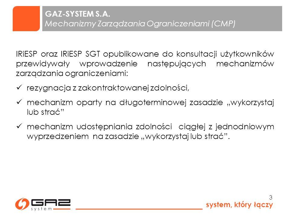 system, który łączy 14 GAZ-SYSTEM S.A.