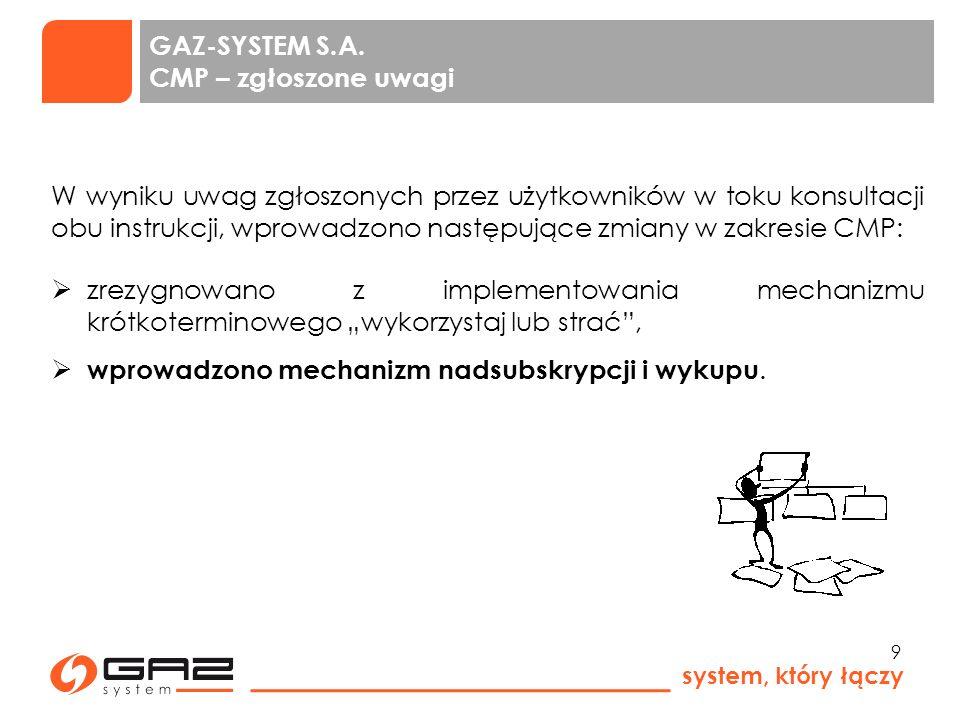 system, który łączy 10 GAZ-SYSTEM S.A.