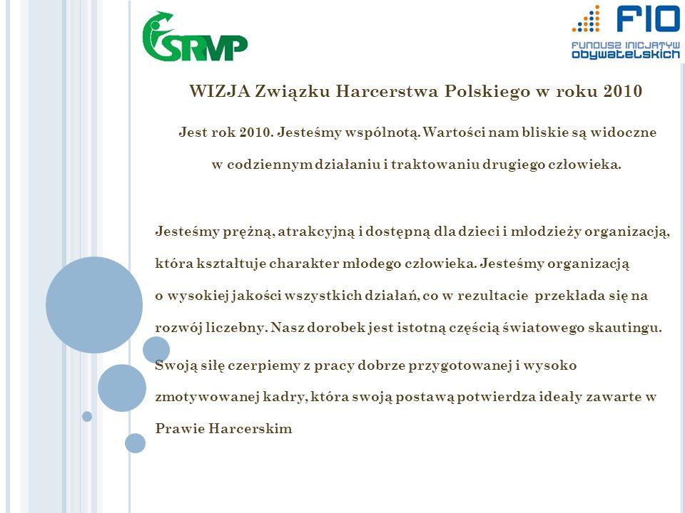 WIZJA Związku Harcerstwa Polskiego w roku 2010 Jest rok 2010.