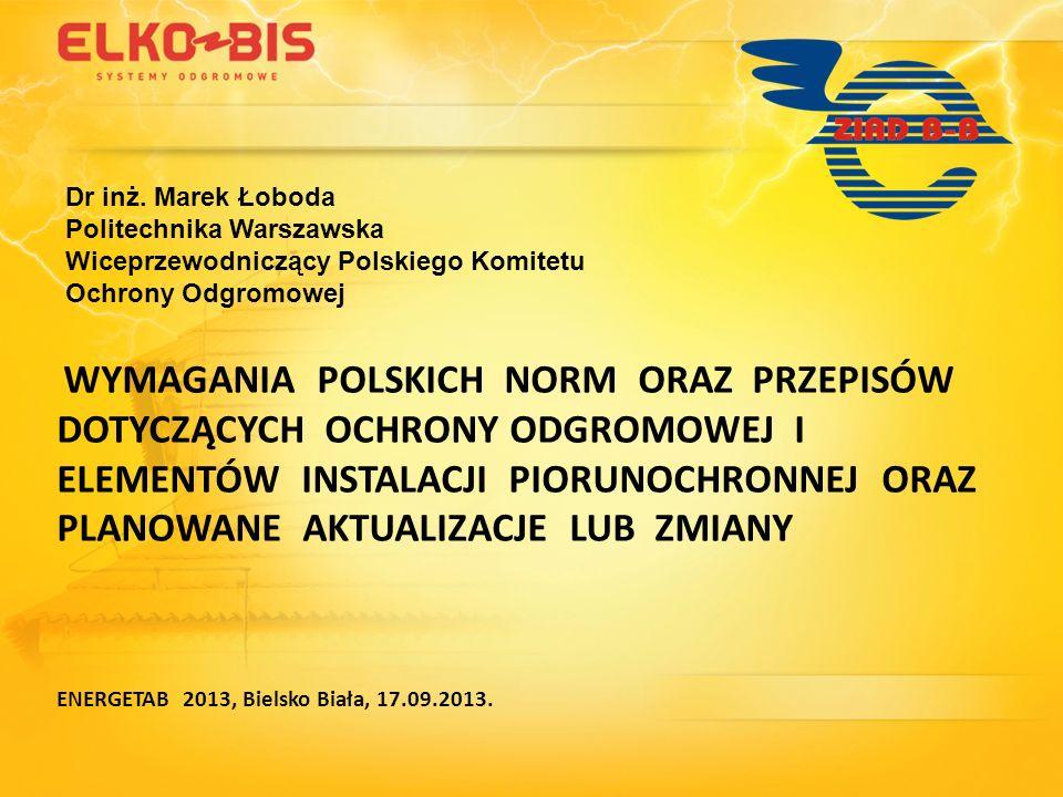 Dokręcanie z odpowiednim momentem (powoli) X - połączenie za pomocą 4 śrub Specjalne postępowanie przy zaciskach ze stali nierdzewnej (ponowne dokręcenie) 1 2 3 4 ENERGETAB 2013, Bielsko Biała, 17.09.2013.