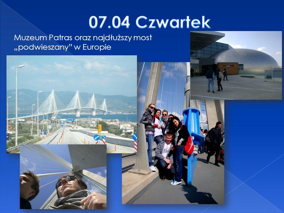 Muzeum Patras oraz najdłuższy most podwieszany w Europie