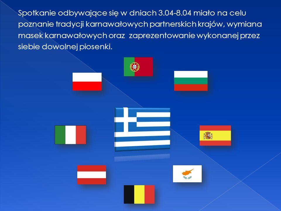 Nauka hymnu we wszystkich 9 językach - oczywiście polskie wersy były najtrudniejsze