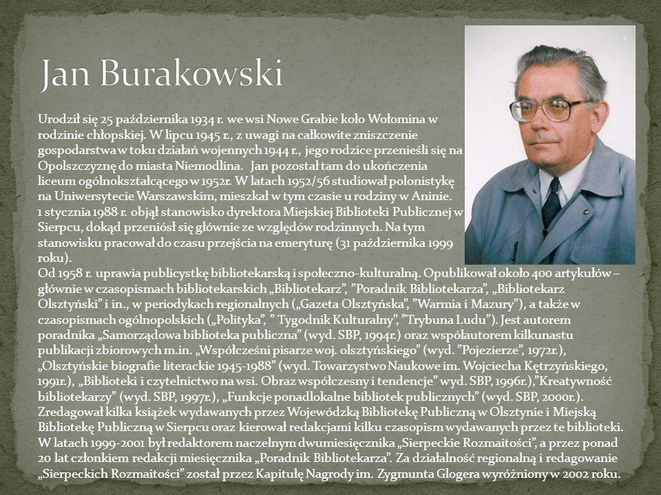 Urodził się 25 października 1934 r. we wsi Nowe Grabie koło Wołomina w rodzinie chłopskiej. W lipcu 1945 r., z uwagi na całkowite zniszczenie gospodar