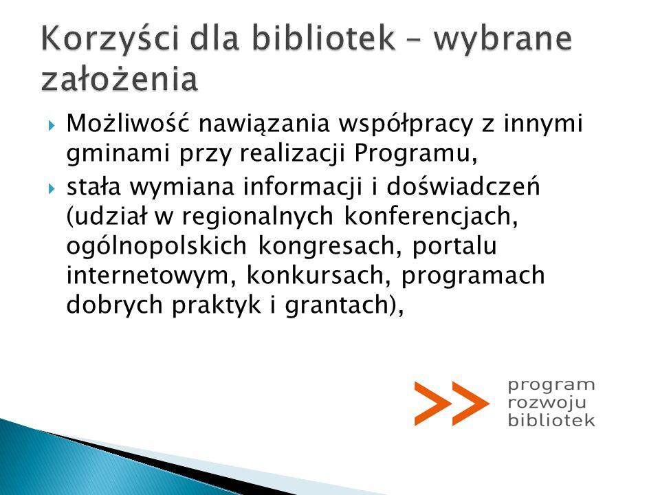 Materiały promocyjne Programu Rozwoju Bibliotek: Broszura wydana z okazji inauguracji Programu Rozwoju Bibliotek: Program Rozwoju Bibliotek.