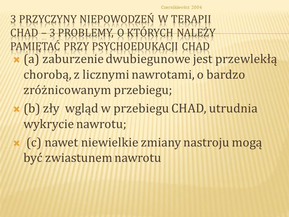 Colom i wsp. 2000 WSPÓŁPRACA PACJENTÓW EUTYMICZNYCH