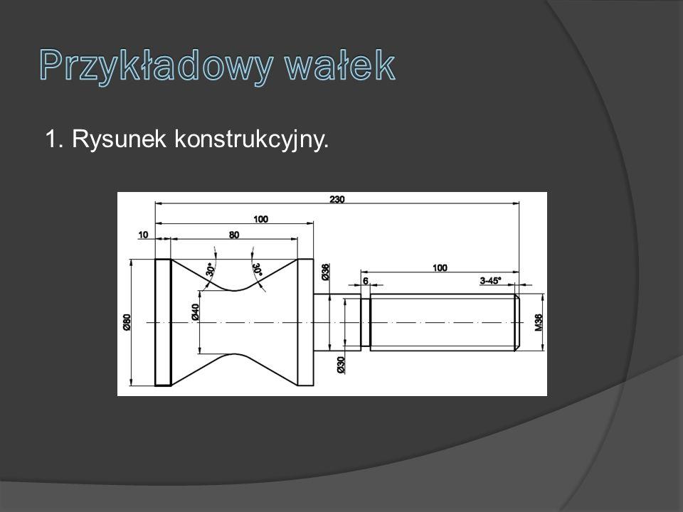 1. Rysunek konstrukcyjny.