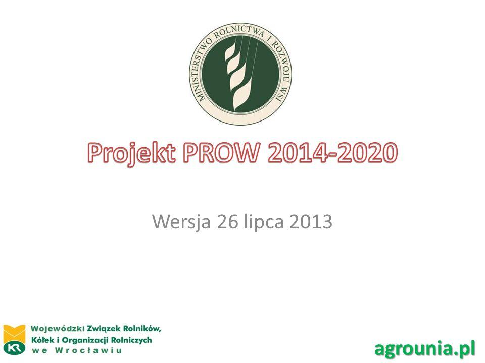 Wersja 26 lipca 2013 agrounia.pl