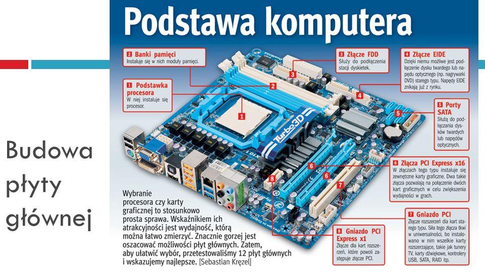 Dysk twardy HDD szybkość transmisji (transfer) danych, prędkość obrotowa (5400 RPM, 7200 RPM, 15 000 RPM), rozmiar pamięci podręcznej - wśród nowych dysków zazwyczaj 8MB, Średni czas dostępu (ang.