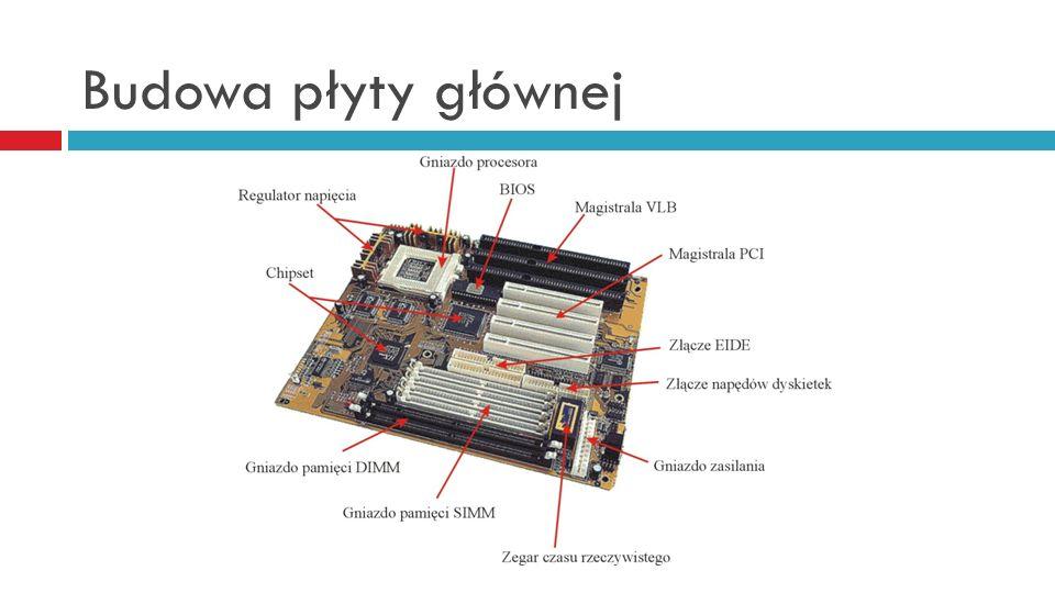 Płyta główna - standardy PC/XT - pierwszy standard płyt głównych opracowany przez IBM dla pierwszych komputerów PC.