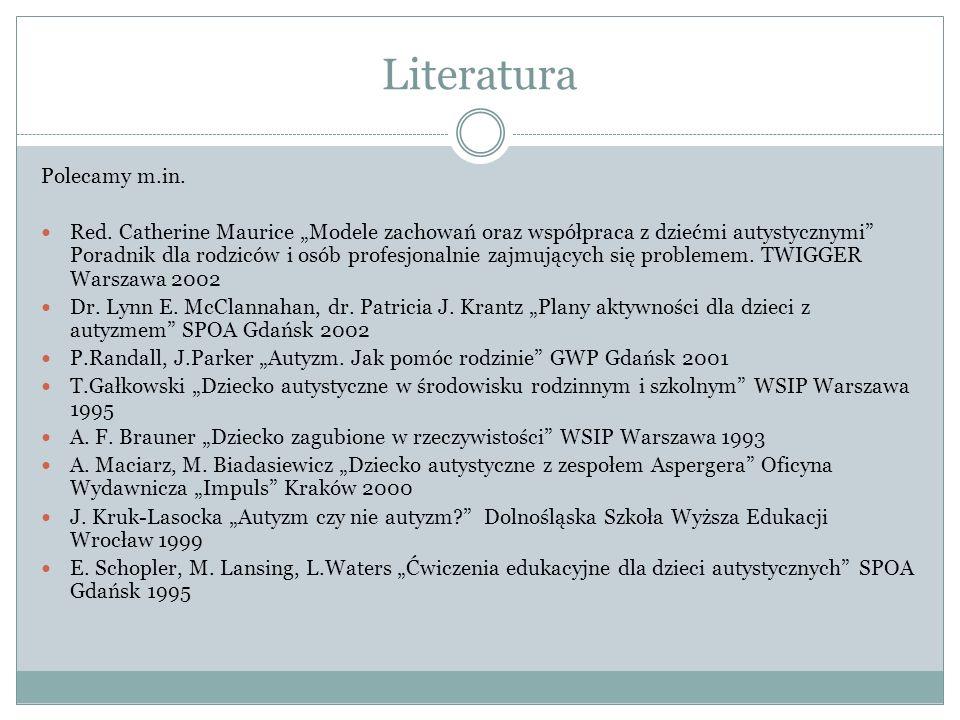Literatura Polecamy m.in.Red.