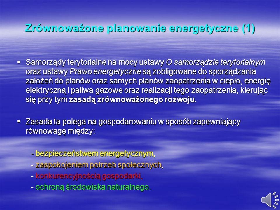 Planowanie rozwoju lokalnej gospodarki energetycznej z wykorzystaniem odnawialnych źródeł energii