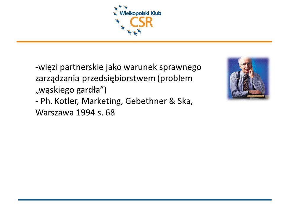 -więzi partnerskie jako warunek sprawnego zarządzania przedsiębiorstwem (problem wąskiego gardła) - Ph.