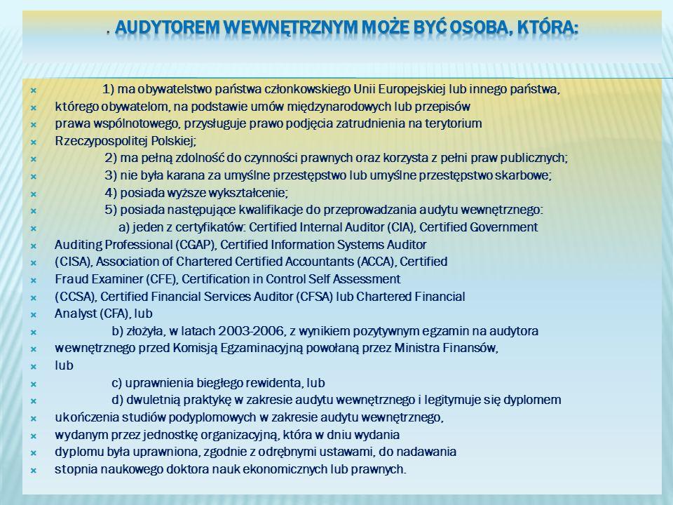 1) ma obywatelstwo państwa członkowskiego Unii Europejskiej lub innego państwa, którego obywatelom, na podstawie umów międzynarodowych lub przepisów p