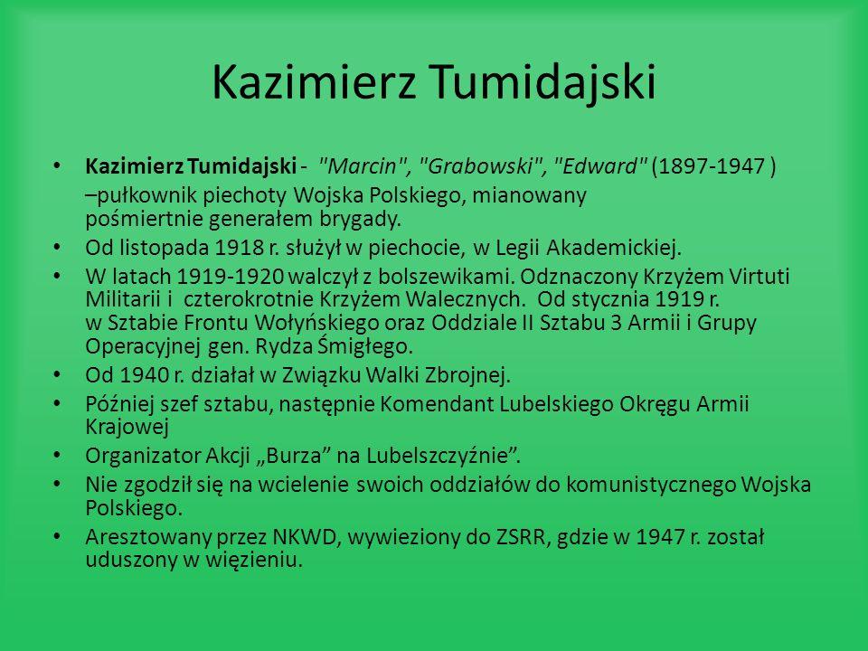 Kazimierz Tumidajski Kazimierz Tumidajski -