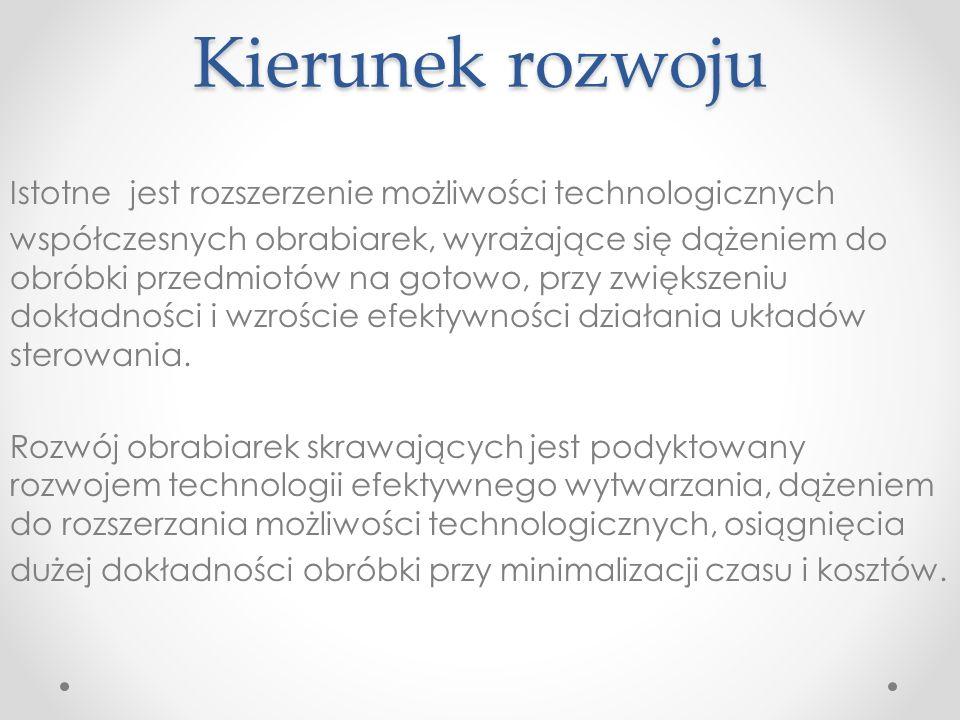 Wyrafinowane wersje oprogramowania do obróbki kół zębatych na frezarkach pięcioosiowych, np.