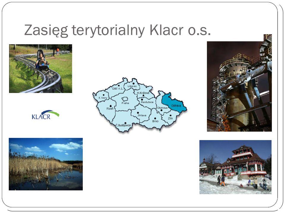 Zasięg terytorialny Klacr o.s.
