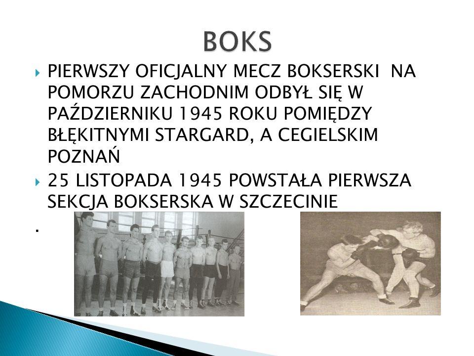 Lata 1961-64 to dominacja MKS Pogoń Szczecin, kolejne 3 lata to z kolei pierwsze miejsca zespołu Wiarus w wojewódzkich rozgrywkach.