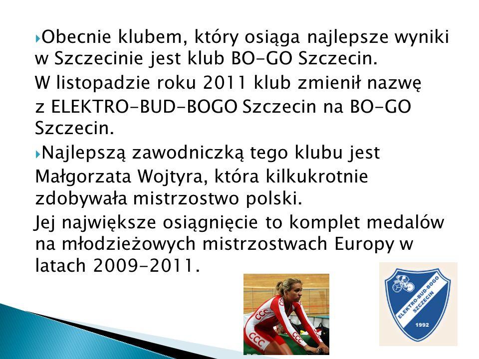 Obecnie klubem, który osiąga najlepsze wyniki w Szczecinie jest klub BO-GO Szczecin. W listopadzie roku 2011 klub zmienił nazwę z ELEKTRO-BUD-BOGO Szc