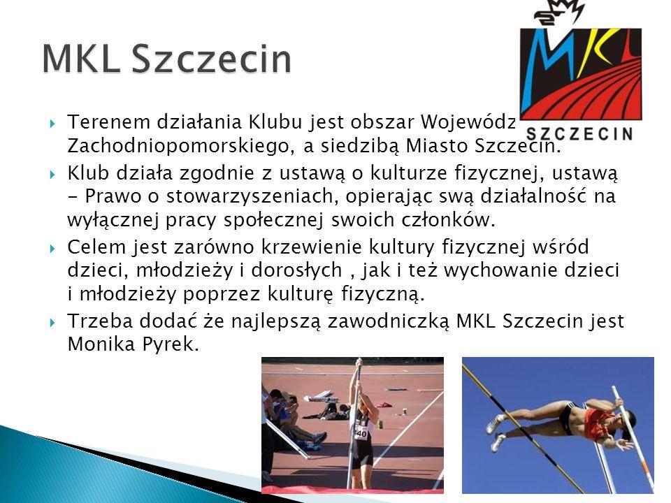 Terenem działania Klubu jest obszar Województwa Zachodniopomorskiego, a siedzibą Miasto Szczecin. Klub działa zgodnie z ustawą o kulturze fizycznej, u